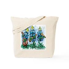 Unique Blue bonnet Tote Bag