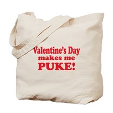 Anti-V-day Puke Tote Bag