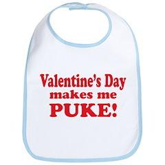 Anti-V-day Puke Bib
