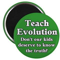 Teach Evolution Magnet