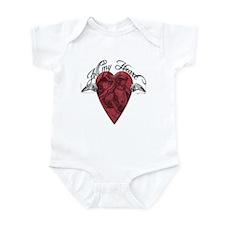 """""""All My Heart"""" Infant Bodysuit"""