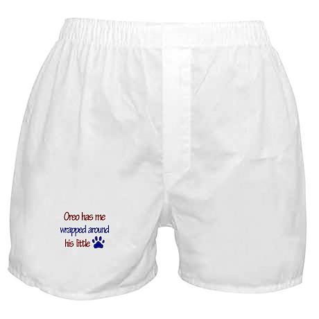 Oreo - Wrapped Around His Lit Boxer Shorts