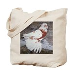 Pageant Champion Pigeon Tote Bag
