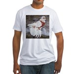 Pageant Champion Pigeon Fitted T-Shirt