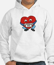 Screw You Valentine Hoodie