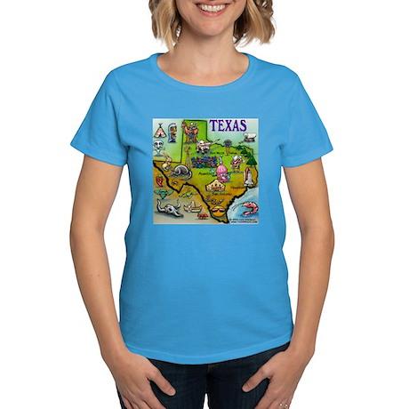 3-TEXASmapT T-Shirt