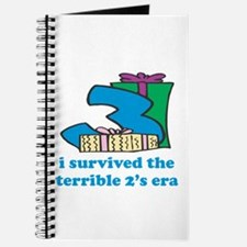 Three: I Survived The Terrible Two's Journal