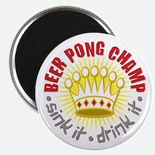 Beer Pong Champ Magnet