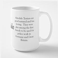 Airedale Profile Mug