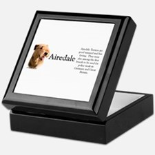 Airedale Profile Keepsake Box