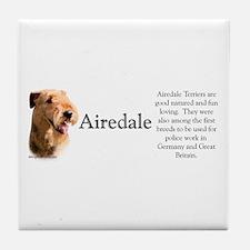 Airedale Profile Tile Coaster