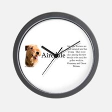 Airedale Profile Wall Clock