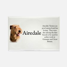 Airedale Profile Rectangle Magnet (10 pack)
