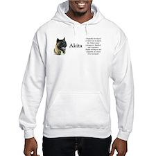Akita Profile Hoodie