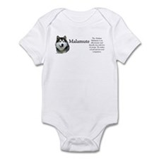 Malamute Profile Infant Bodysuit