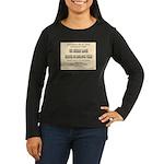 Chicken Ranch Brothel Women's Long Sleeve Dark T-S