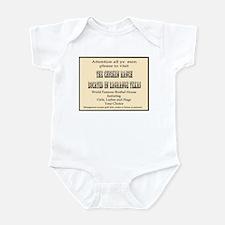 Chicken Ranch Brothel Infant Bodysuit