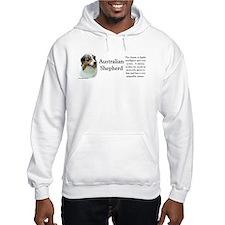 Aussie Shepherd Profile Hoodie