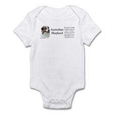 Aussie Shepherd Profile Infant Bodysuit