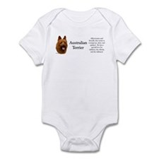 Aussie Terrier Profile Infant Bodysuit