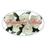 Southern Belle Oval Sticker