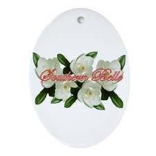 Southern Belle Oval Ornament