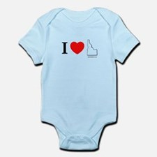 Cool Idaho potato Infant Bodysuit