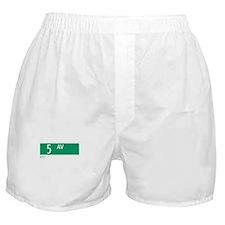 5th Avenue in NY Boxer Shorts