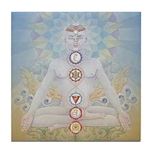 Seven Chakras Tile
