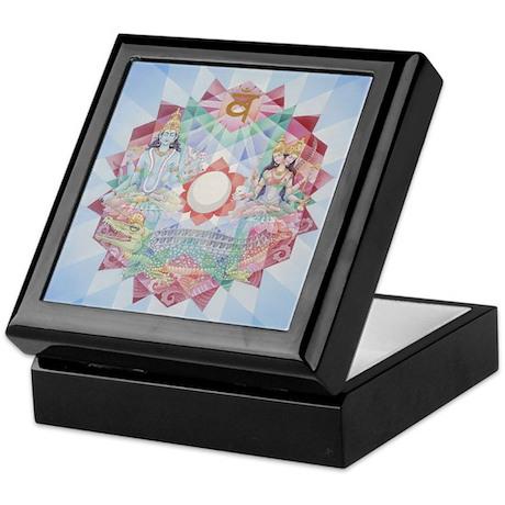 Second Chakra Tiled Box