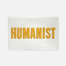 HUMANIST Rectangle Magnet (10 pack)