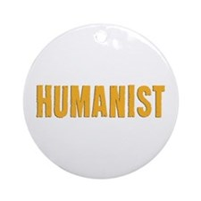 HUMANIST Ornament (Round)