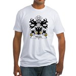 Woode Family Crest Fitted T-Shirt