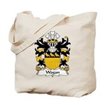 Wogan Family Crest Tote Bag