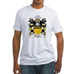 Wogan Family Crest Fitted T-Shirt