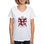 Winston Family Crest Women's V-Neck T-Shirt