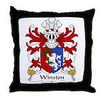 Winston Family Crest Throw Pillow