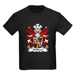 William Family Crest Kids Dark T-Shirt