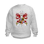 William Family Crest Kids Sweatshirt