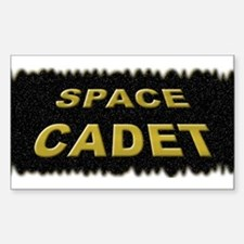 Space Cadet Rectangle Decal