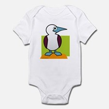 Blue Footed Booby Infant Bodysuit