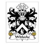 Widlocke Family Crest Small Poster