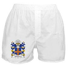 Whitney Family Crest Boxer Shorts