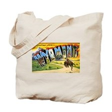 Wyoming Greetings Tote Bag