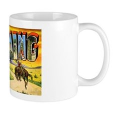 Wyoming Greetings Mug