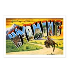 Wyoming Greetings Postcards (Package of 8)