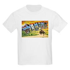 Wyoming Greetings (Front) T-Shirt