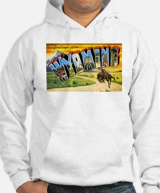 Wyoming Greetings (Front) Hoodie