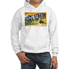 Wyoming Greetings (Front) Jumper Hoody