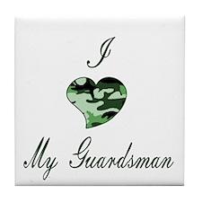 I love Guardsman Tile Coaster